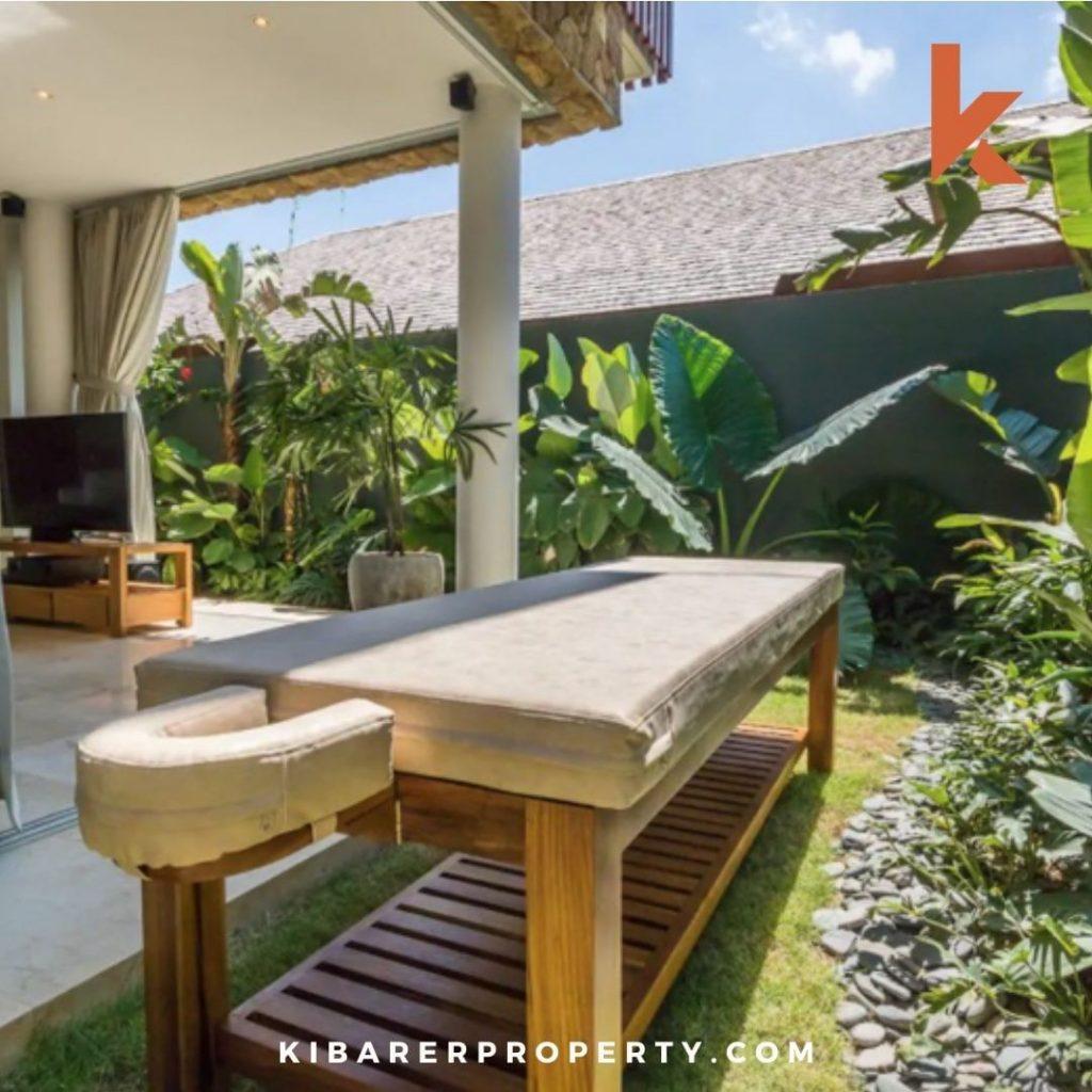 Do Outdoor Spa in private villa Bali