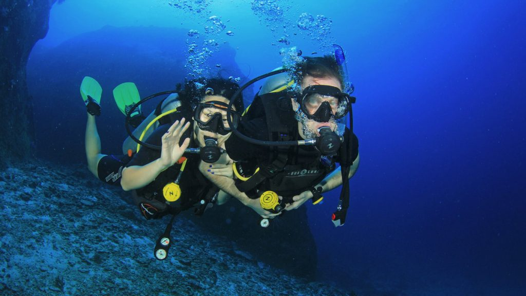 Beginner diver with no experience